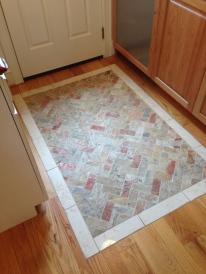 Kitchen Tile mosaic entrance